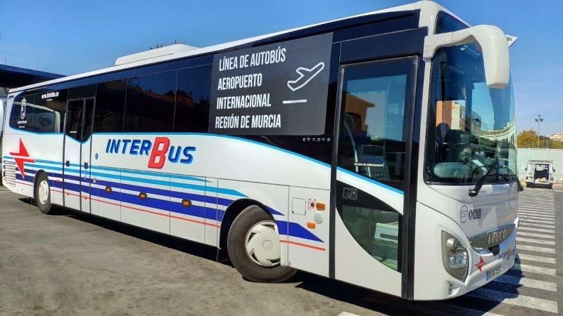 <span style='color:#780948'>ARCHIVED</span> - Public bus routes and timetables to and from the Region of Murcia International Airport in Corvera, winter 2019-20