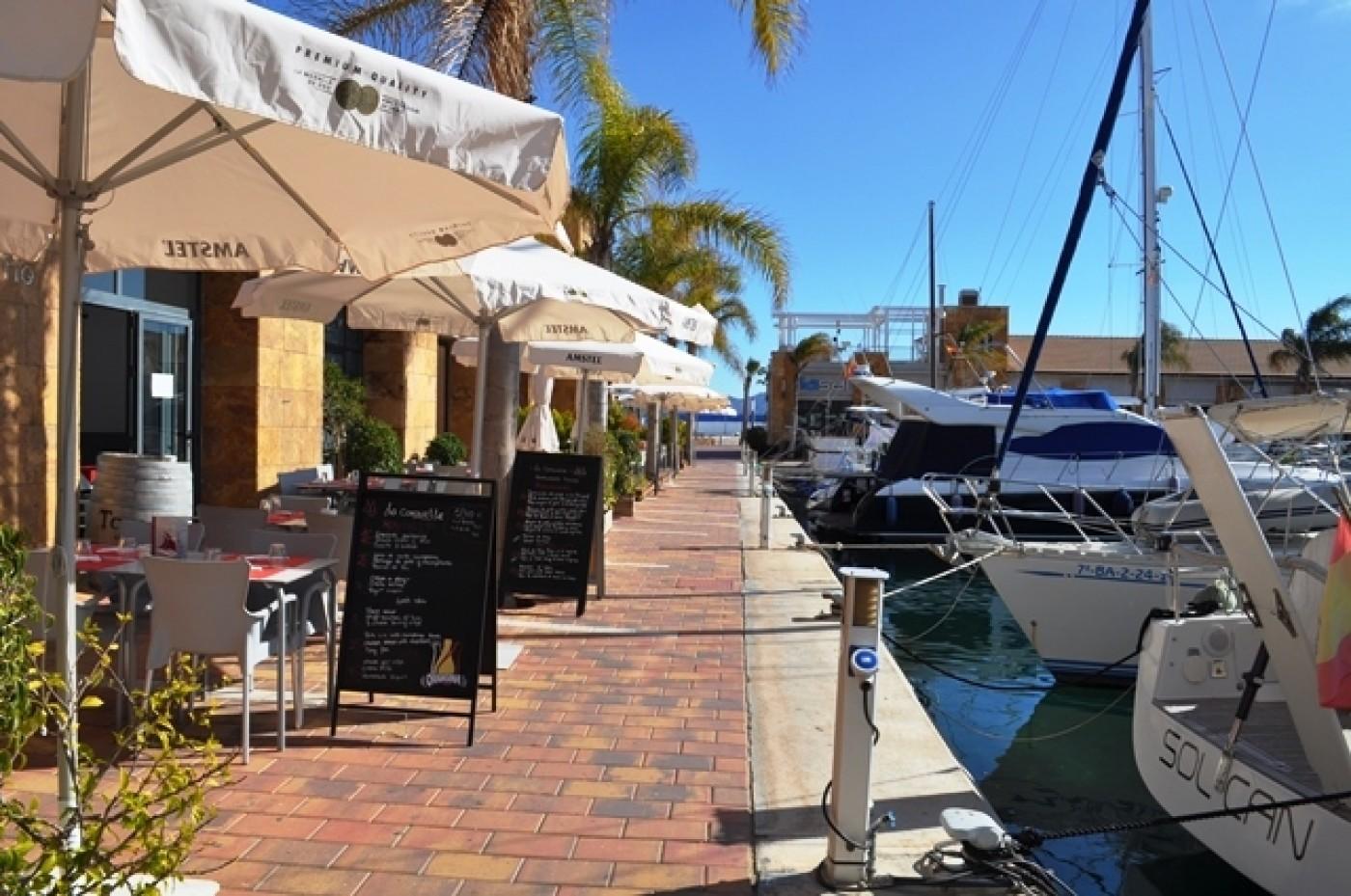 La Caravelle, French restaurant in the main marina of Puerto de Mazarrón