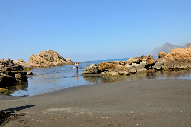 La Unión beaches: Playa Lastre