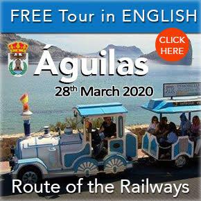 Aguilas Train Railway Tour Banner March 2020