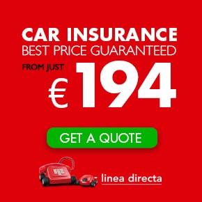 Linea Directa LEFT column CAR INSURANCE